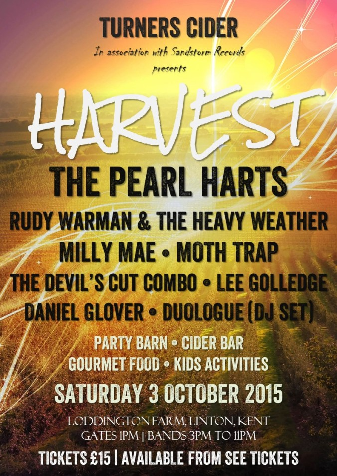 Harvest Music Festival poster ALT
